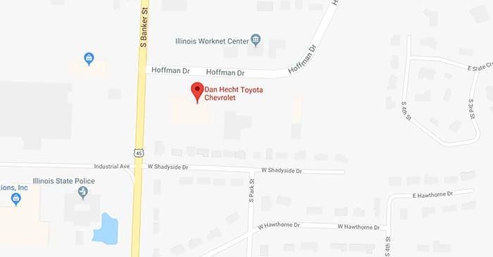 Dan Hecht Toyota: New & Used Car Dealership in Effingham