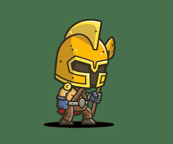 chibi collection game art