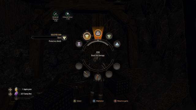 The Witcher 3 Wild Hunt Sign Skill Tree Guide And Overview The Witcher 3 Wild Hunt