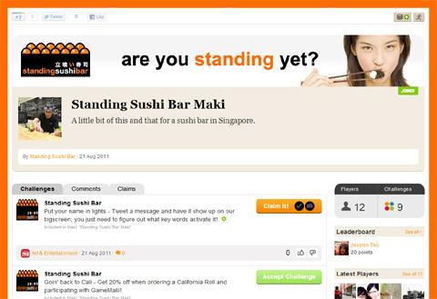 The Standing Sushi Bar Maki