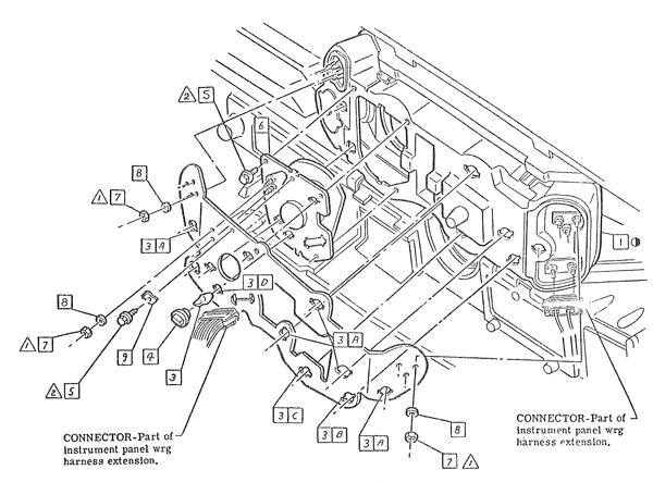 1967-81 Camaro Instrument Cluster Printed Circuit