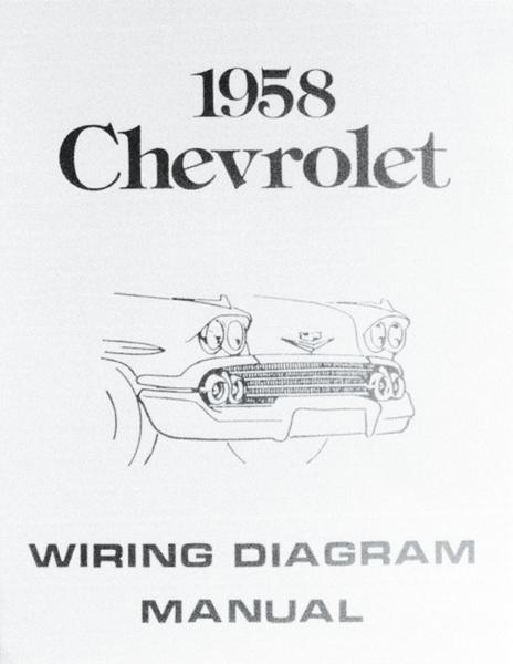 1958-72 Impala 1958 Wiring Diagmanual