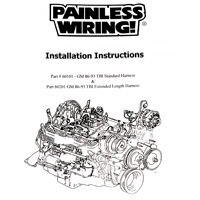 Painless 90501 universal Street Rod Truck Chassis Harness