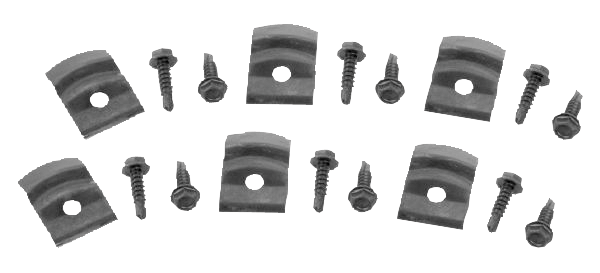 Dynacorn M1430CLP Rocker Panel Molding Clip Set 1964-72 C...