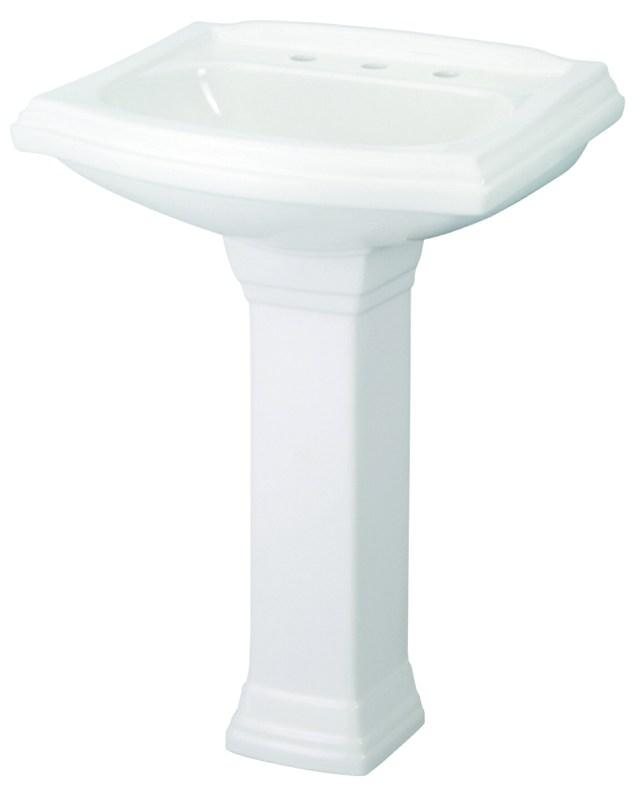 """Allerton™ 8"""" Centers Standard Pedestal Bathroom Sink"""