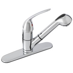 Gerber Kitchen Faucet Touchless Reviews Maxwell Se Single Handle Pull Out