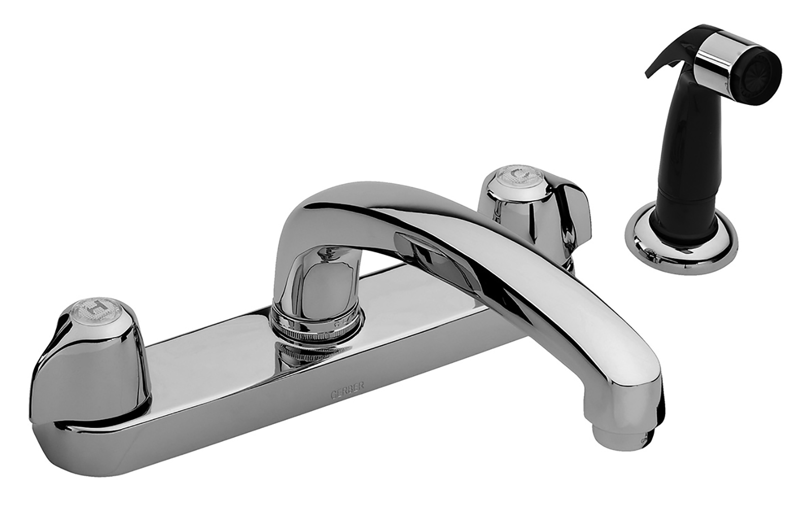 gerber kitchen faucet costco remodel classics two handle with spray