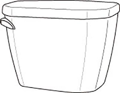 DISCONTINUED Viper® 1.6gpf Tank 12
