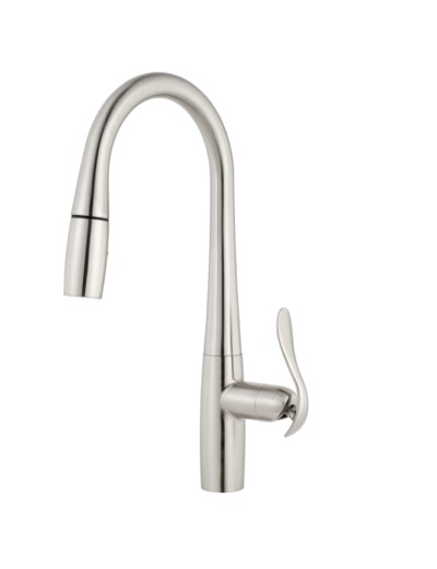 Selene Single Handle Pull-Down Kitchen Faucet w/ Magnetic