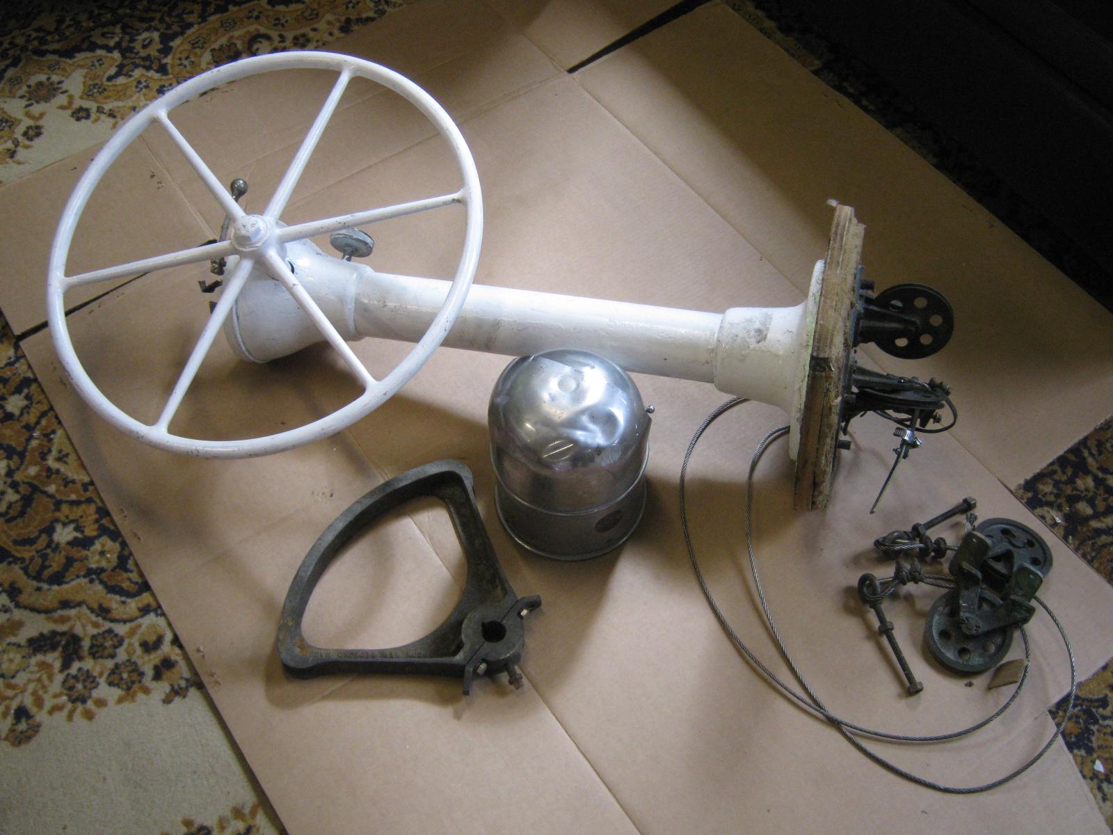 Edson Sailboat Yacht Pedestal Steering System W 24 Wheel