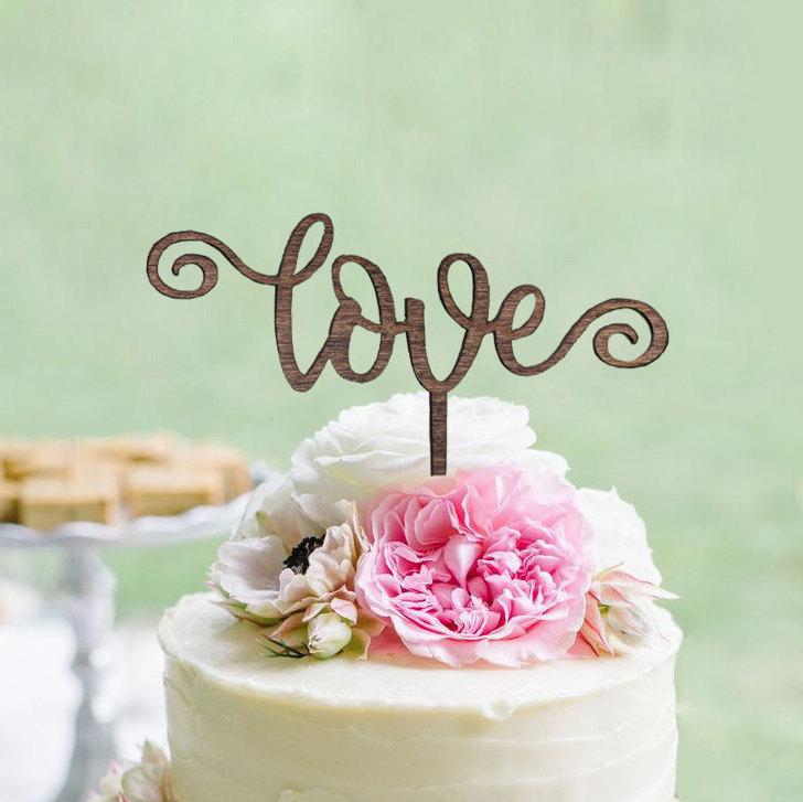 Love Arrow Cake Topper GiftEve