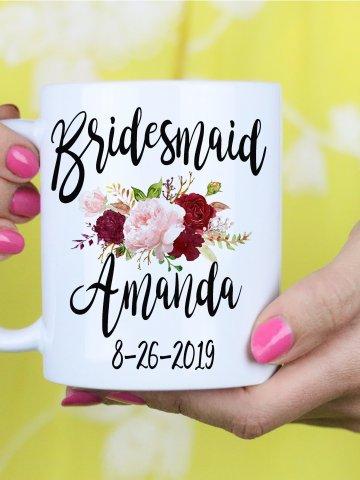Bridesmaid Gift - Maid of Honor gift - Matron of Honor Gift