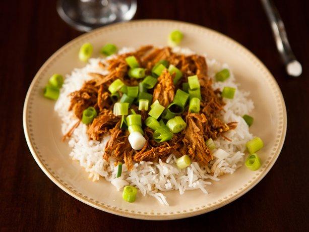 Slow Cooker Bourbon Chicken