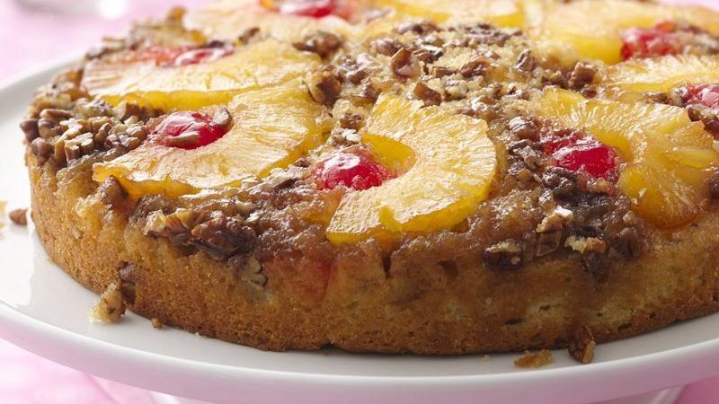 Quick Recipe Pineapple Upside Down Cake