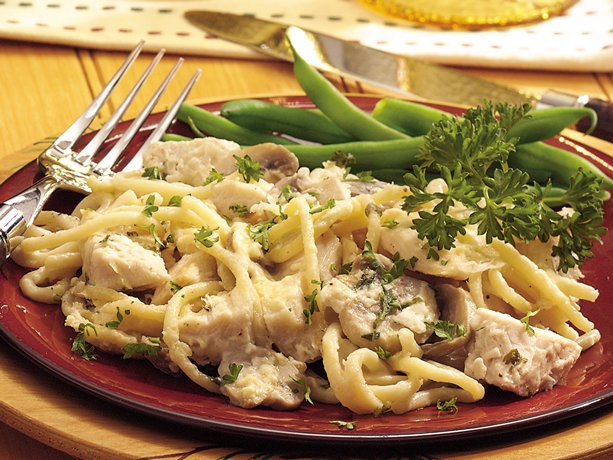 Make-Ahead Turkey Tetrazzini
