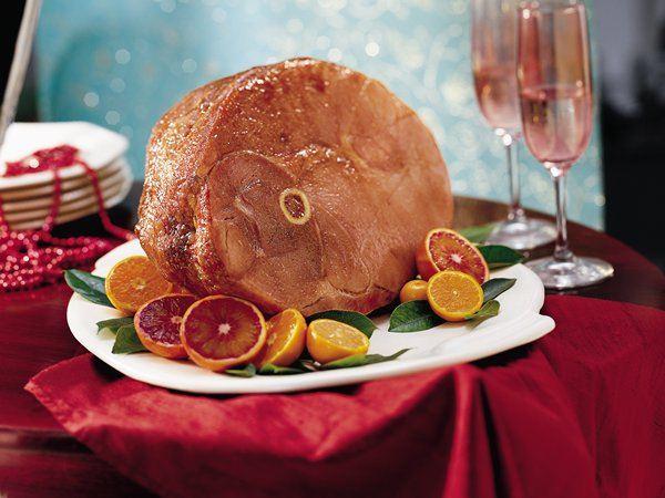 Baked Ham with Balsamic Brown Sugar Glaze (Gluten Free)