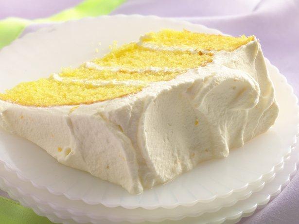 Lemon Velvet Cream Cake