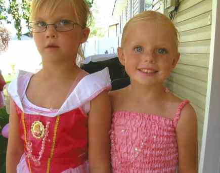 Gracie and Katelyn