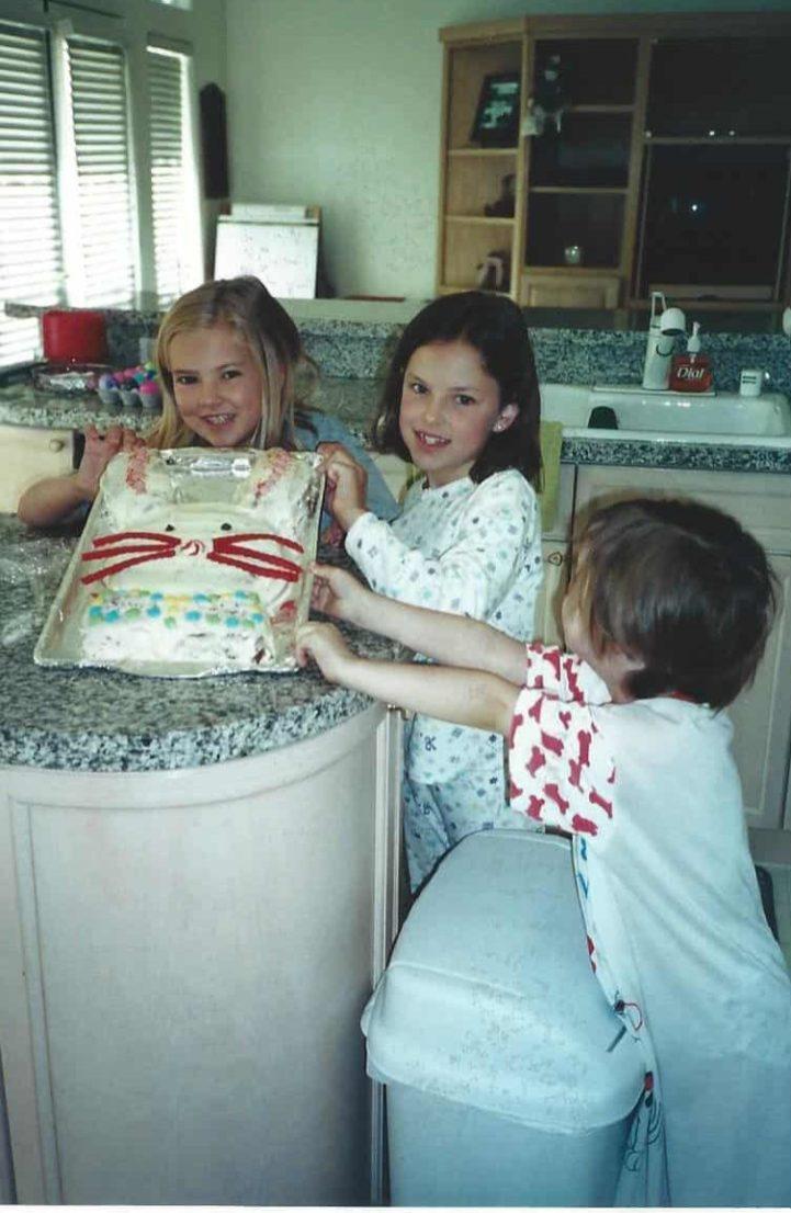 Easter 2002 - Bunny Cake
