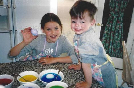 Easter 2003 - Paige & Andrew
