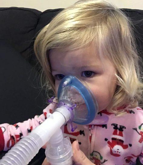 Raegan Breathing Treatment