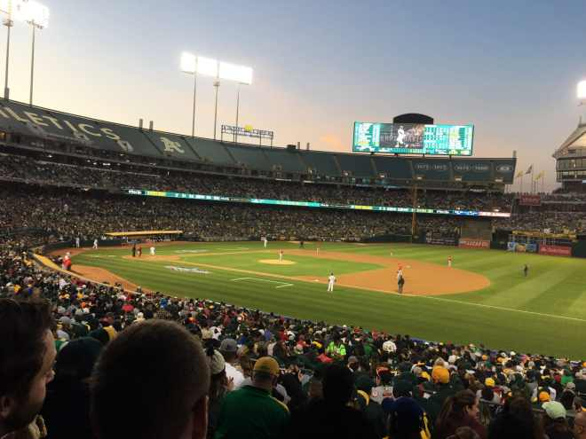 Oakland A's Opening Night