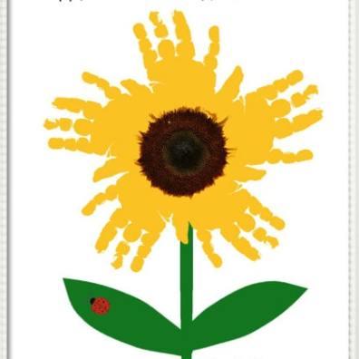 Sunflower Hands