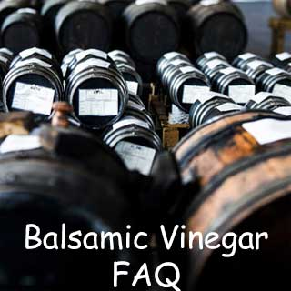 Balsamic Vinegar FAQ