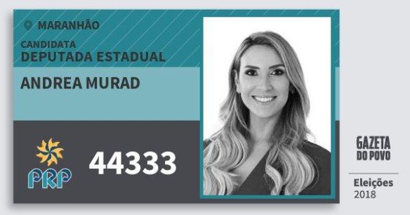 Resultado de imagem para ANDREA MURAD doPRP