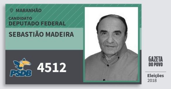 Resultado de imagem para SEBASTIÃO MADEIRA doPSDB