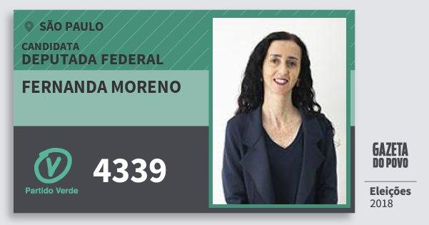 Resultado de imagem para Fernanda Moreno (PV)