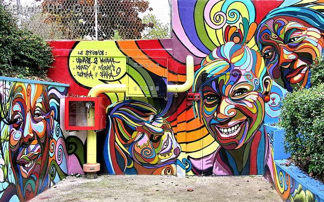 Characters By Shaka  Paris France  Streetart and
