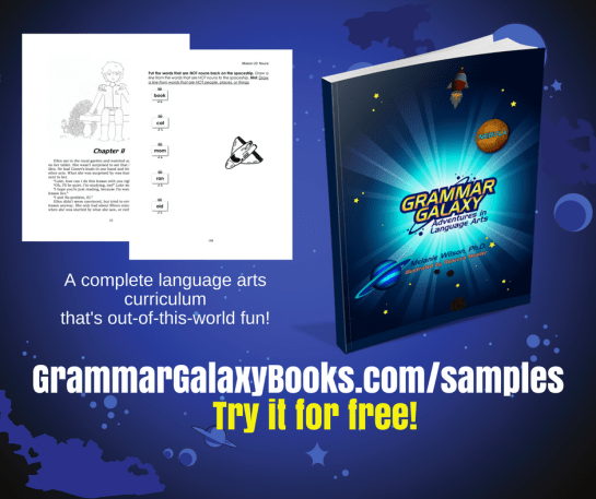 Try Grammar Galaxy language arts curriculum for free!