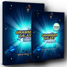 Grammar Galaxy Protostar PRINT Kit (Text & Mission Manual)