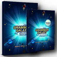 Grammar Galaxy Protostar PRINT Kit (Text & Mission Manual)