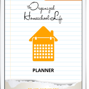 Digital Organized Homeschool Life Planner