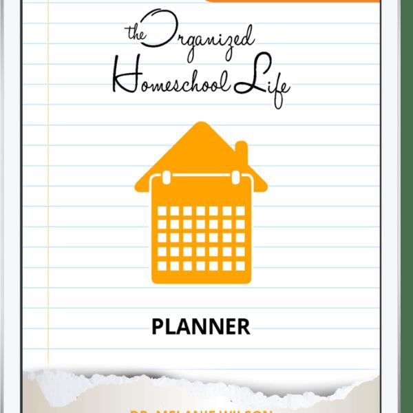 Digital Organized Homeschool Life Planner