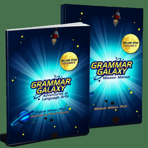 Grammar Galaxy Yellow Star Print Kit