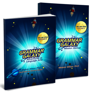 Grammar Galaxy Yellow Star Print Kit