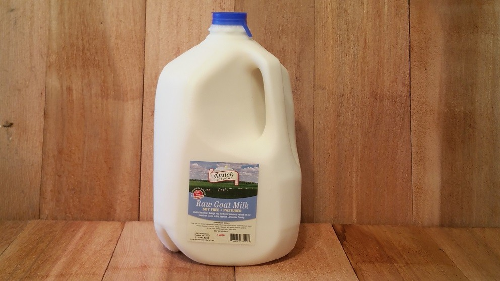 gallon raw goat milk