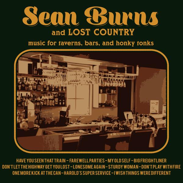 Sean Burns - Album Art