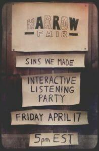 Harrow Fair Listening Party