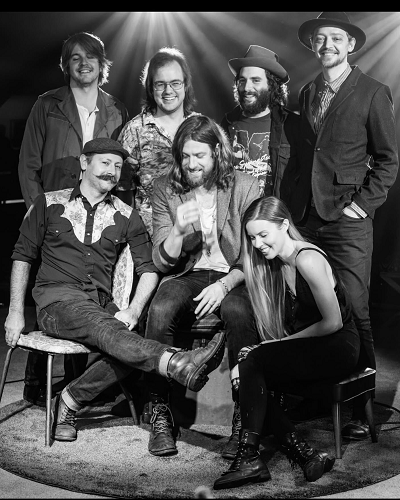 Matt Mays From Burnside With Love - Band Picture