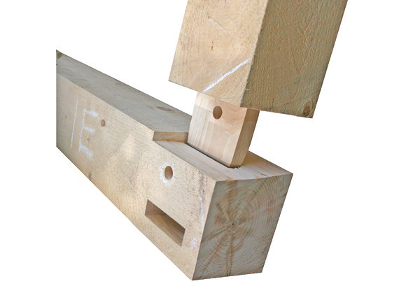 Mortise And Tenon Joinery Timber Frame