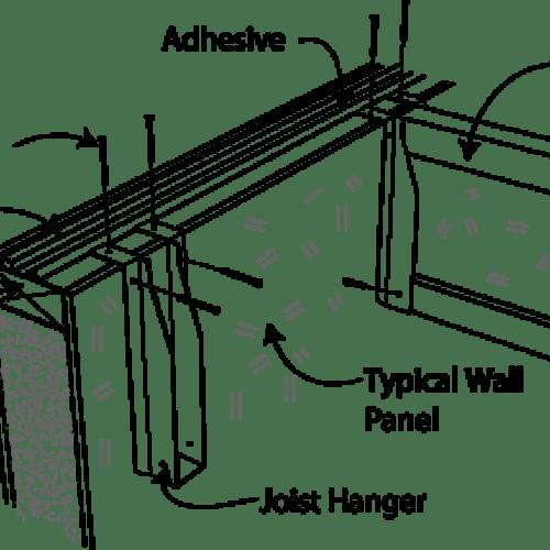 SIP Setting Joist Hangers for Second Floor Deck