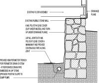 Crawl Space Retrofit: Rubble Wall with New Interior Drain ...