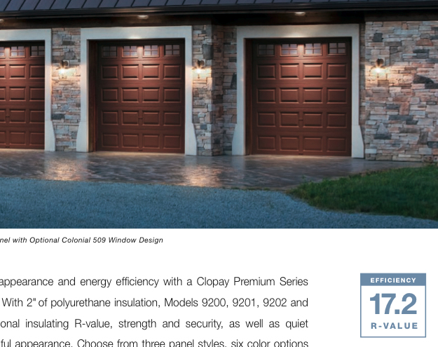 EnergyEfficient Garage Doors  GreenBuildingAdvisor