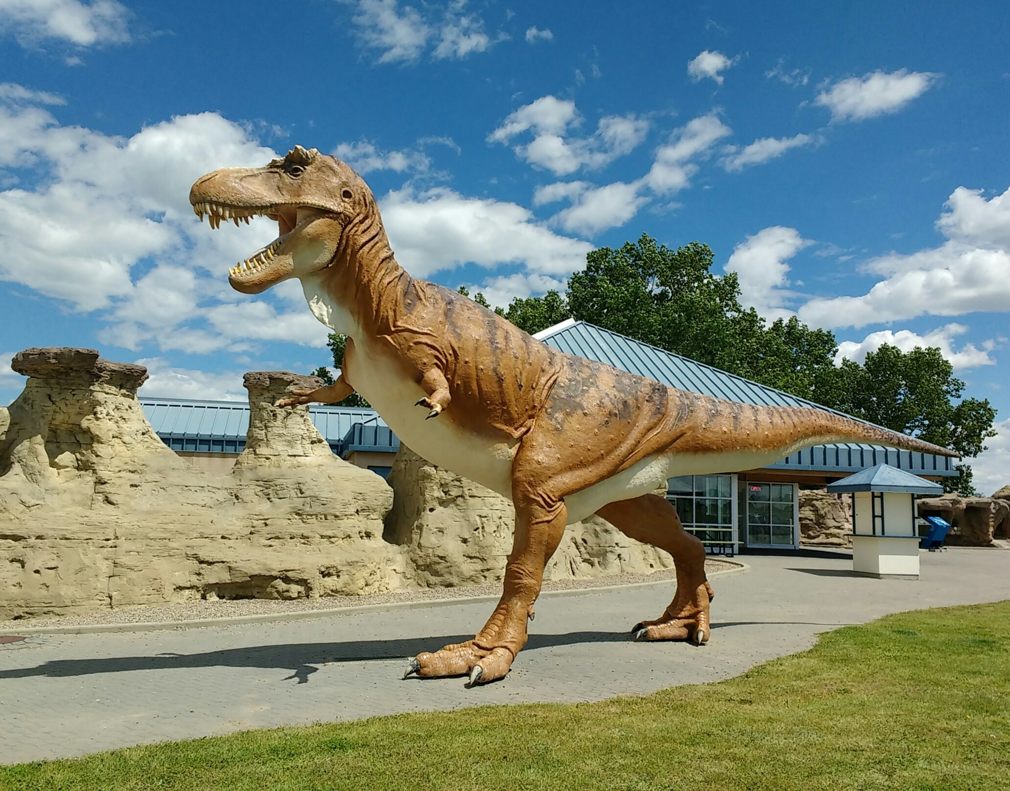 tyrannosaurus rex milk river