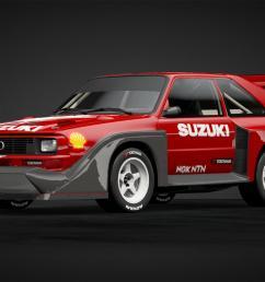 suzuki escudo dirt trial car car livery by rogholmespne1880 community gran turismo sport [ 1920 x 1080 Pixel ]