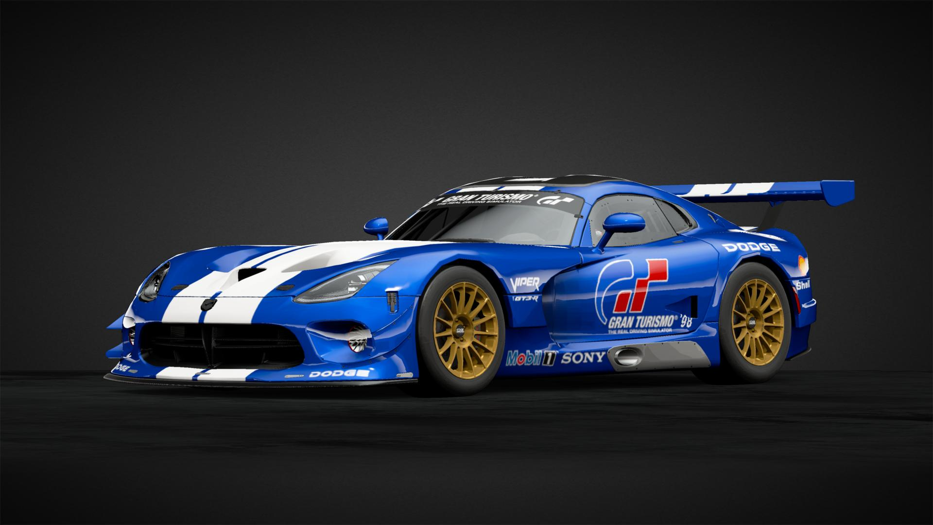 Dodge Viper Gts R Car Livery By Atomiclemon86 Community Gran